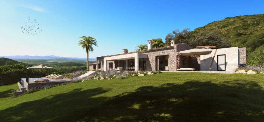 Very impressive country estate, privileged location, exceptional views.